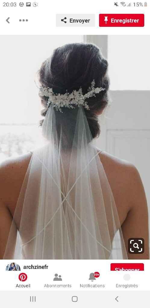 Coiffure mariée - 1