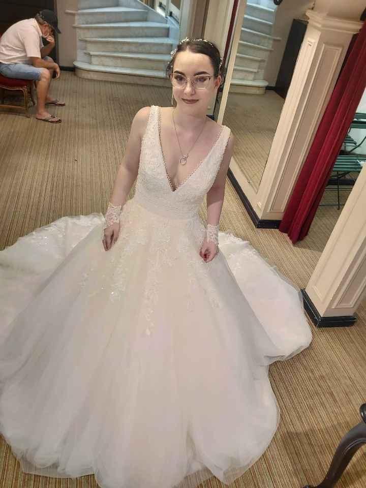 Essayages robe de mariée - 1