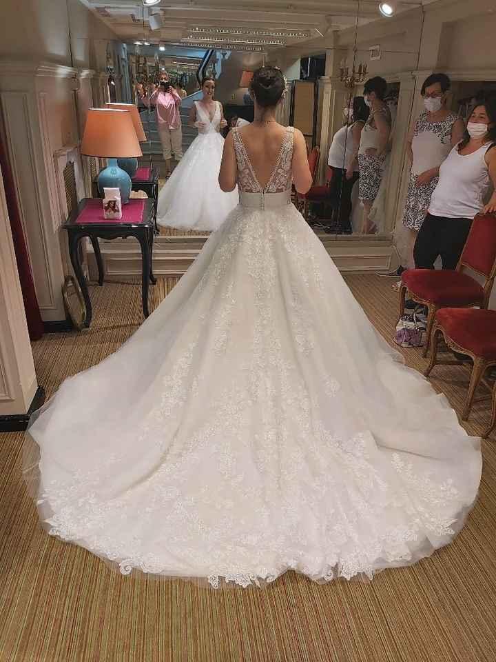 Essayages robe de mariée - 2