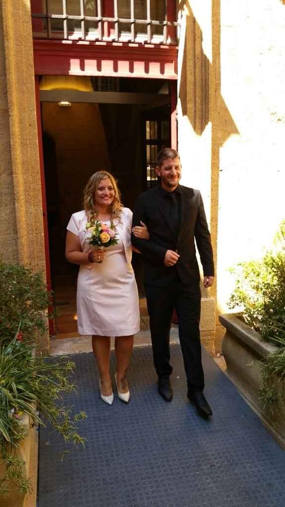 Notre mariage civil du 14 août - 2