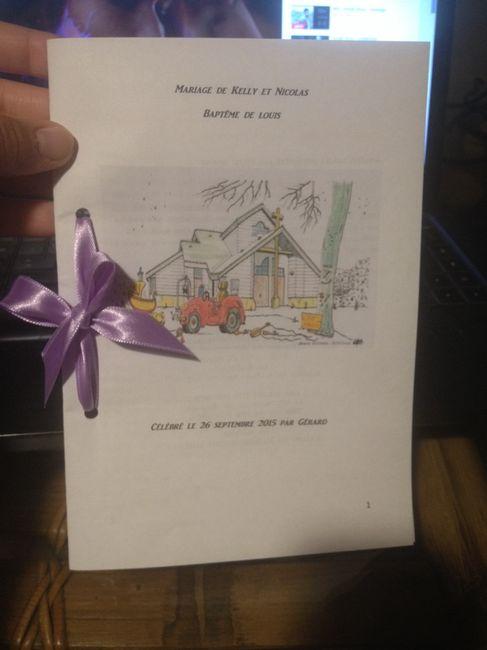 photo de mon livret de messe organisation du mariage forum. Black Bedroom Furniture Sets. Home Design Ideas