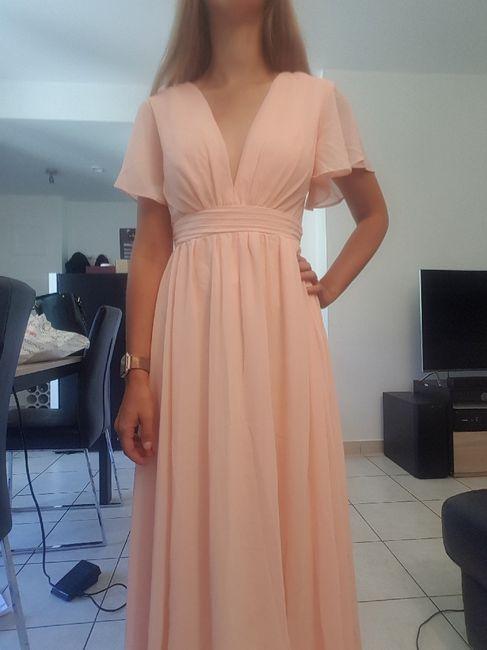 Réception du jour, les robes de mes dh 2