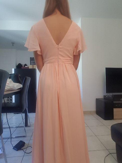 Réception du jour, les robes de mes dh 3