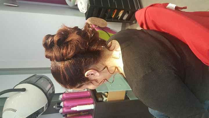 Essai coiffure !!!! - 2