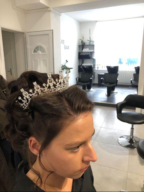 Essai maquillage et coiffure 6
