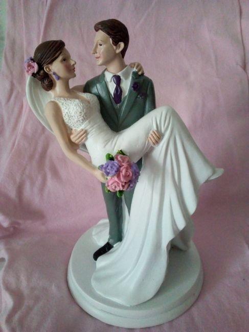 Figurine mariés 2