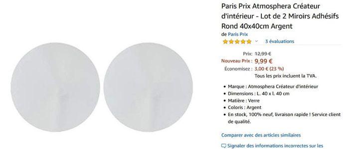 Quel diamètre pour des miroirs en centre de table - 1