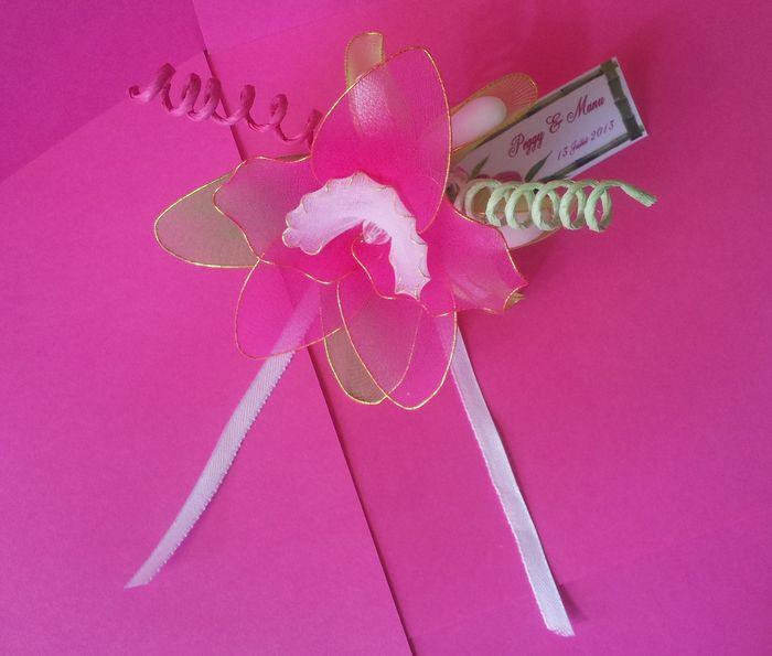 fleur de dragée orchidée