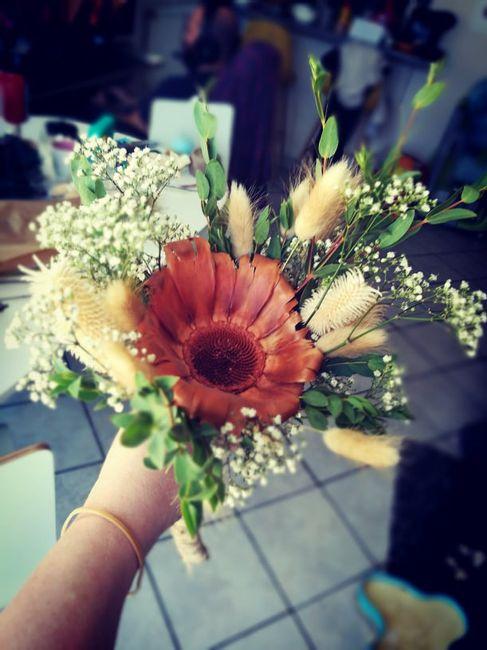 Bouquet, premier essai 1