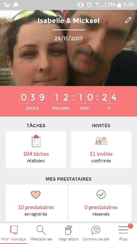 Combien de jours reste-il à votre compteur de mariage ? - 1