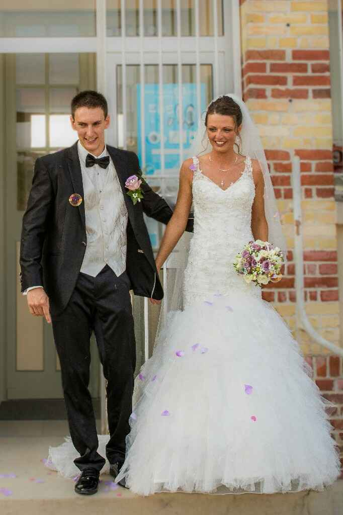 Bouquet de mariée - Septembre - 1