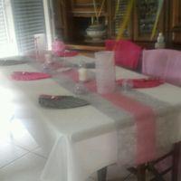 Mes essais de table... - 2