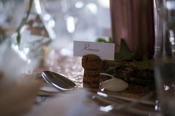 Retour Mariage Partie 3 : Déco Lieu Repas ( Rose Gold/greenery ) 17