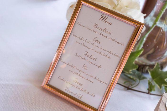 Retour Mariage Partie 3 : Déco Lieu Repas ( Rose Gold/greenery ) 18