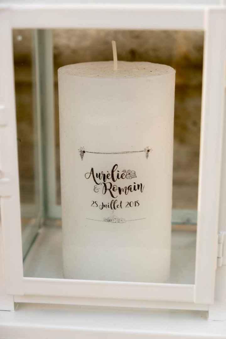 Les bougies personnalisées