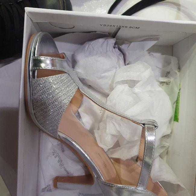 Chaussures argentées 5