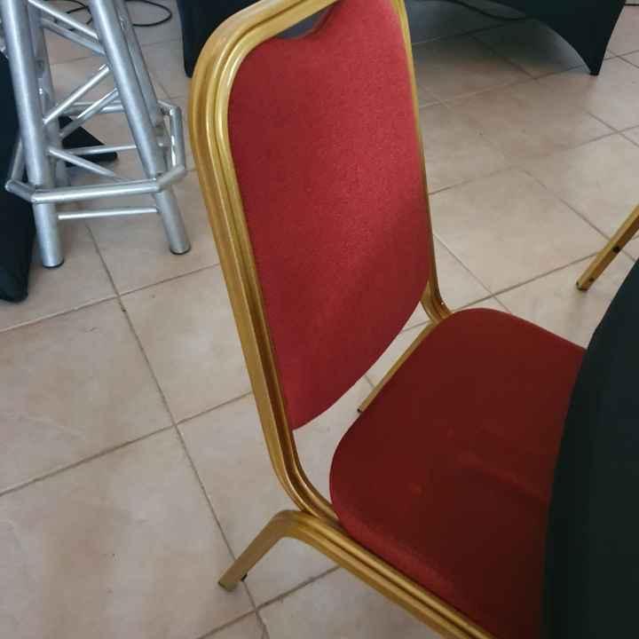 Decoration des chaises - 1