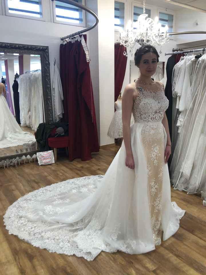 Robe de mariée 2 en 1 - 1