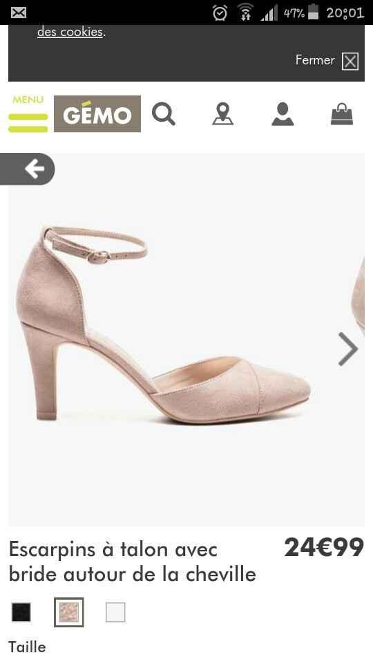 J'ai enfin trouvé mes chaussures 😍 {photos} - 1