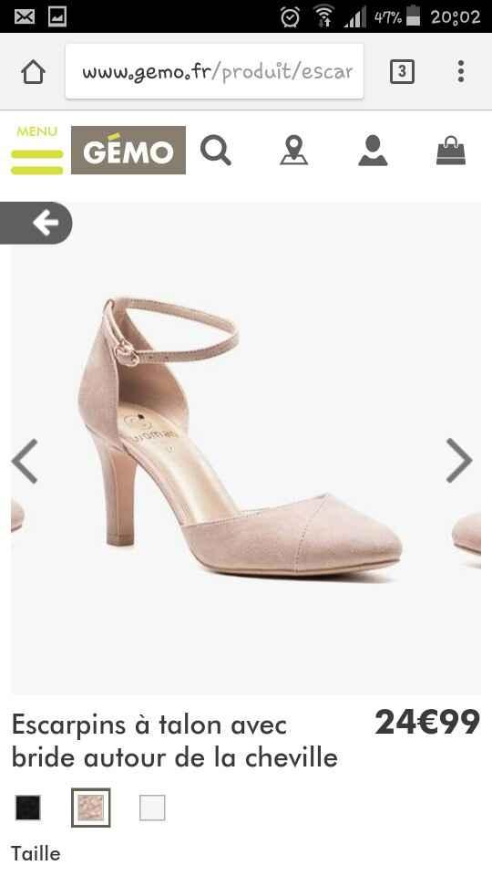 J'ai enfin trouvé mes chaussures 😍 {photos} - 2