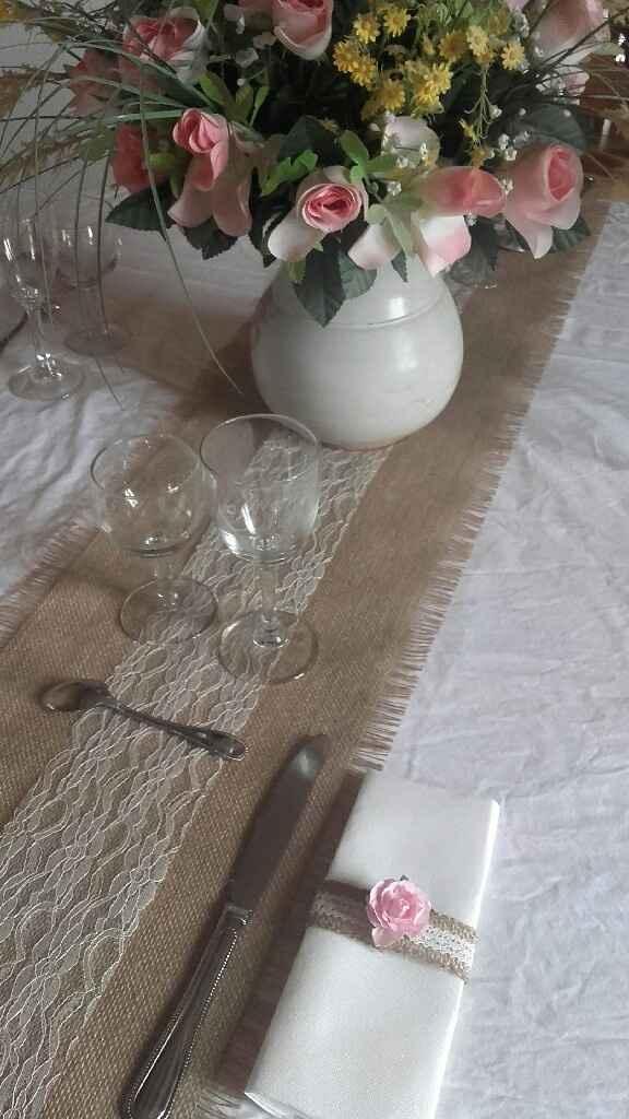 1er essai table des invités et plan de table - 1