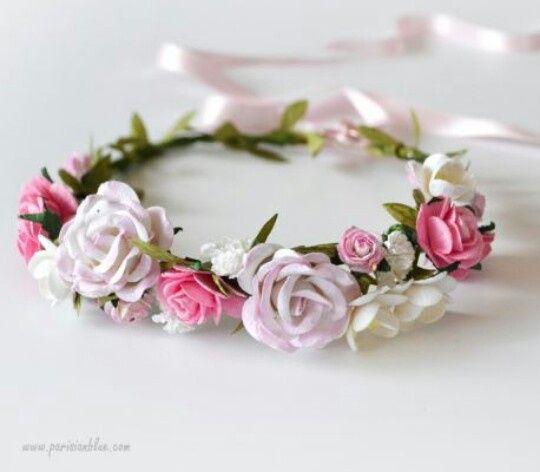 Une couronne de fleures fraîches! - 1
