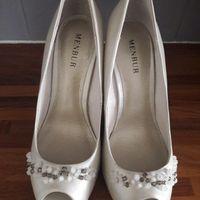 Mes chaussures de Mariée