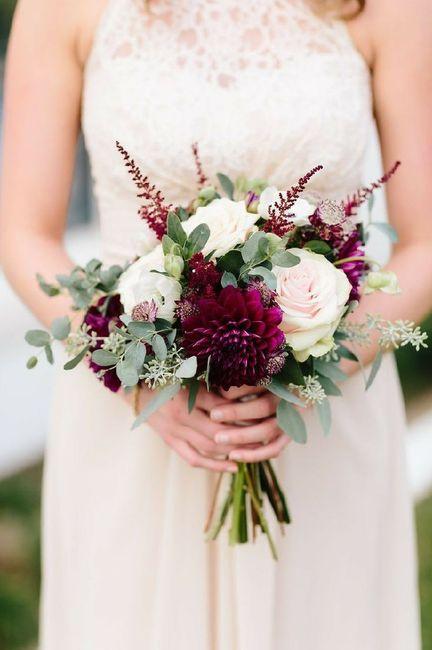 Bouquet de la mariée rouge 2