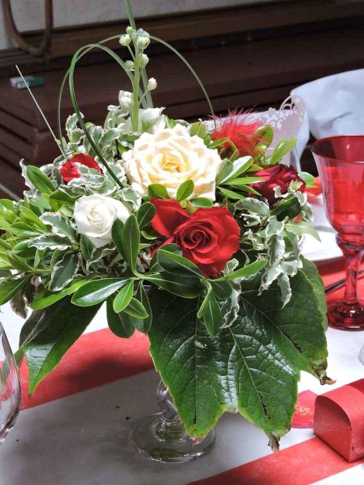 bouquets tables