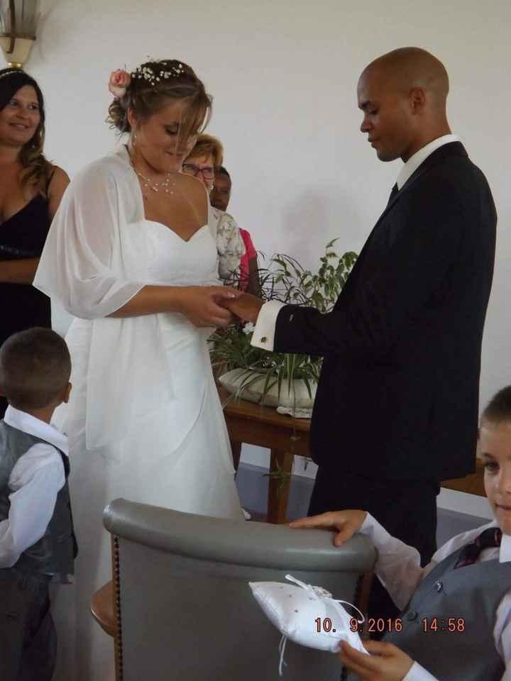 Notre mariage le 10/09/2016 - 1