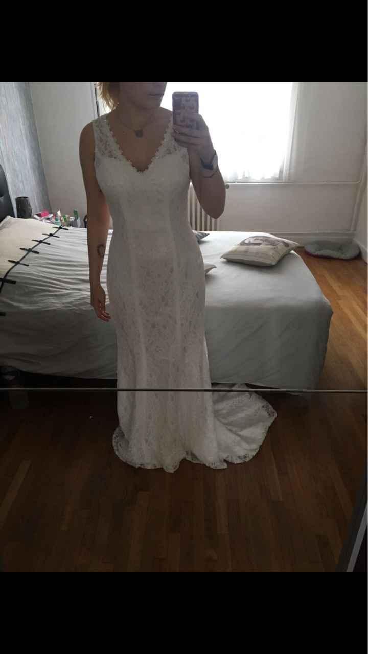 Robe de mariée achetée sur internet - 1