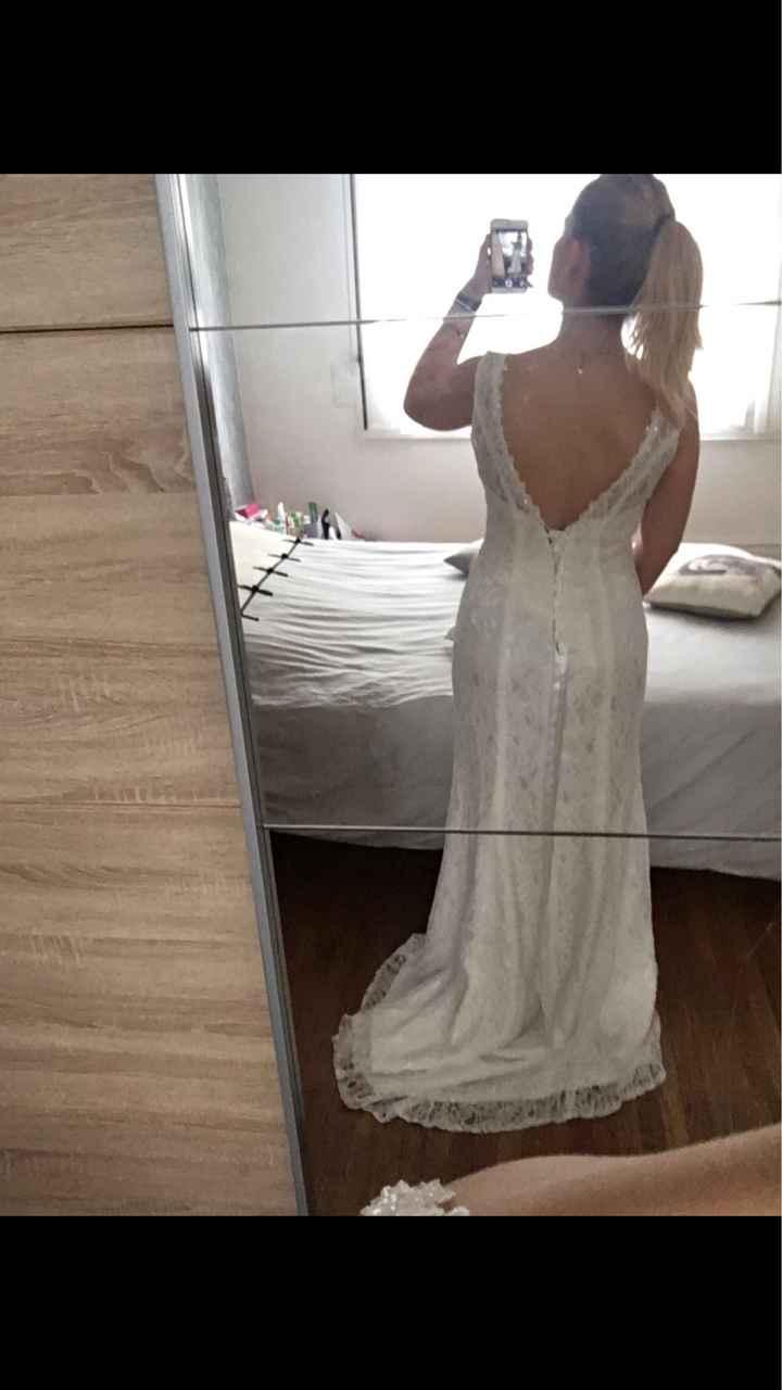 Robe de mariée achetée sur internet - 2