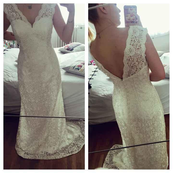 Robe de mariée achetée sur internet - 3