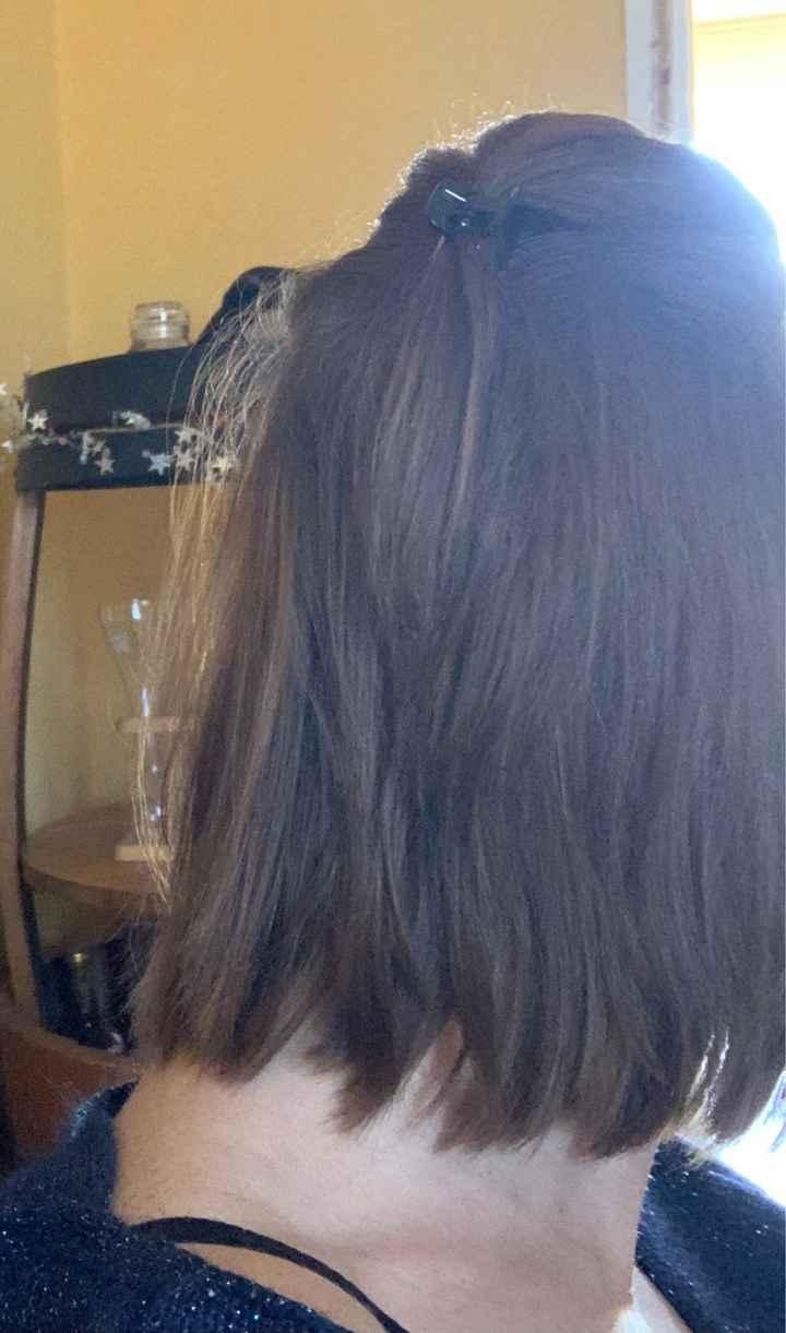 Coiffure cheveux raplaplas 😁 - 1