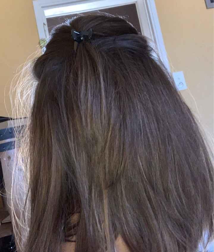 Coiffure cheveux raplaplas 😁 - 2