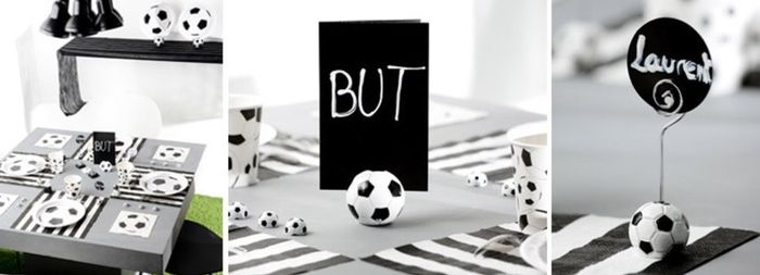 Mariage th me m tier foot page 2 d coration forum - Decoration anniversaire football ...