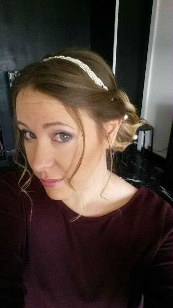 Essai coiffure et maquillage :) - 1