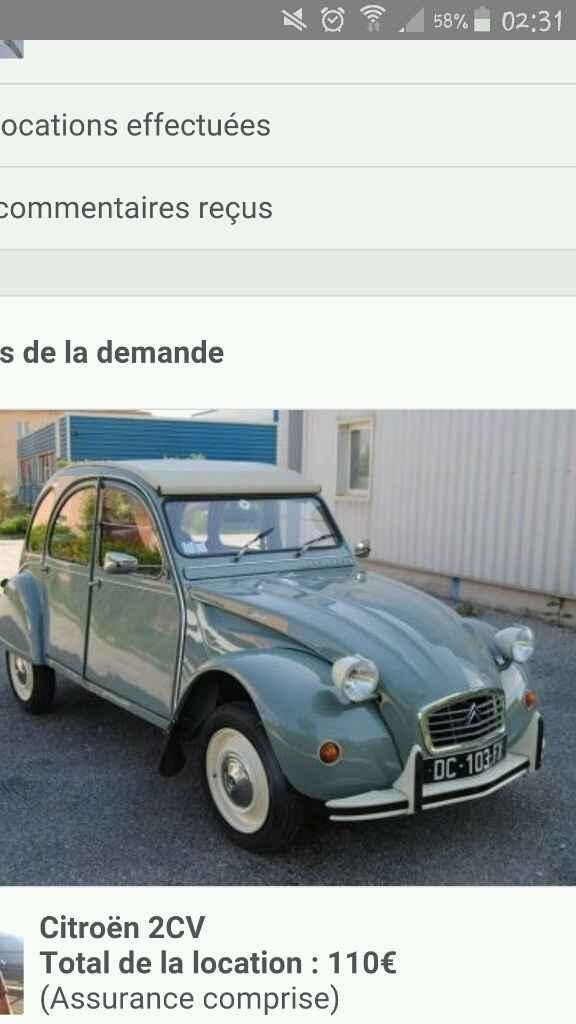 A la recherche d'une voiture ancienne urgent !!!! - 1