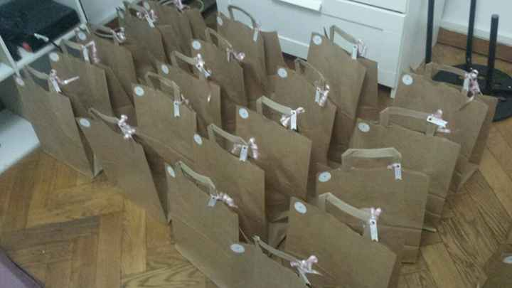 Mes welcome bags ! - 1