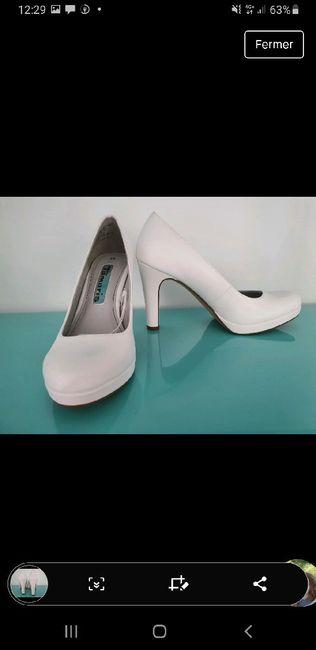 Qu'as-tu trouvé en premier ? Tes chaussures ou ta robe ? 2