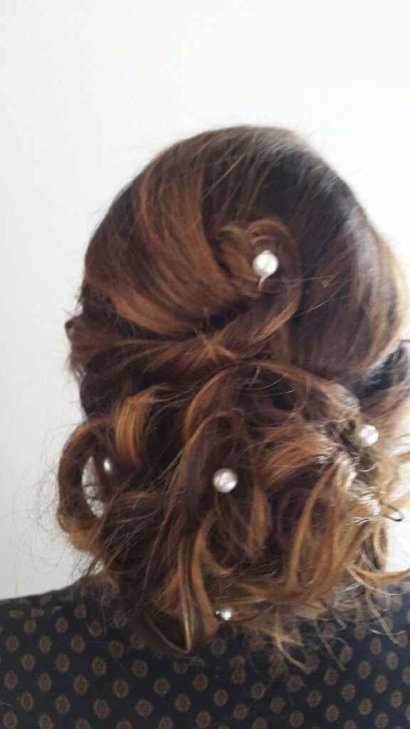 Essayage  coiffure et maquillage - 5