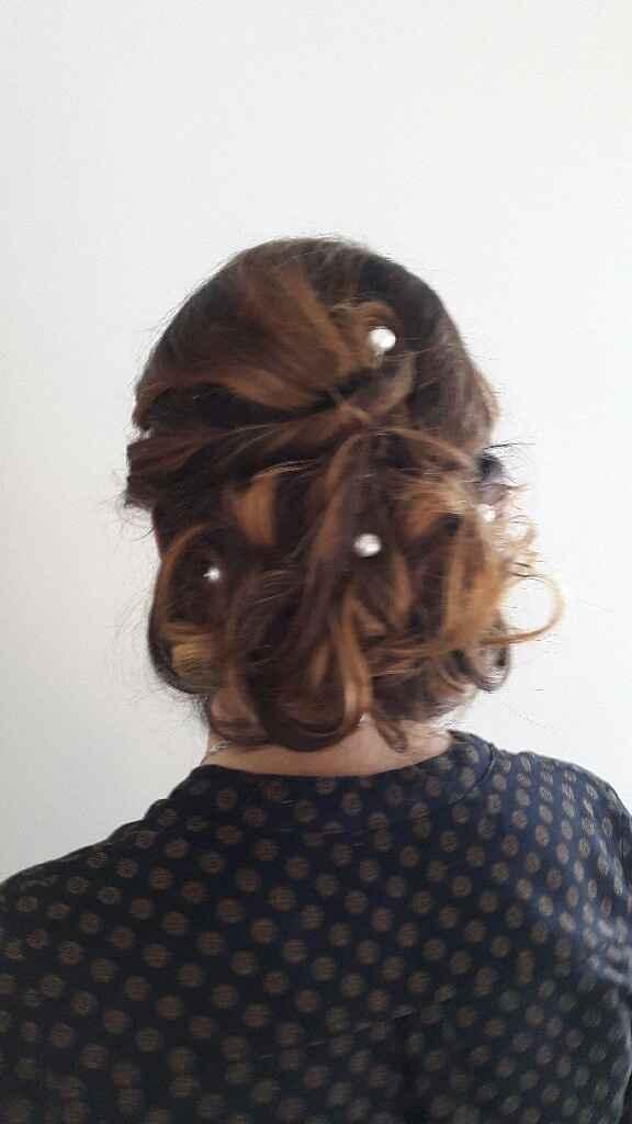 Essayage  coiffure et maquillage - 6