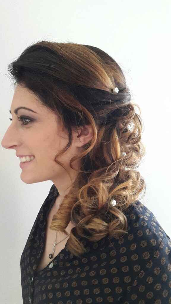 Essayage  coiffure et maquillage - 1