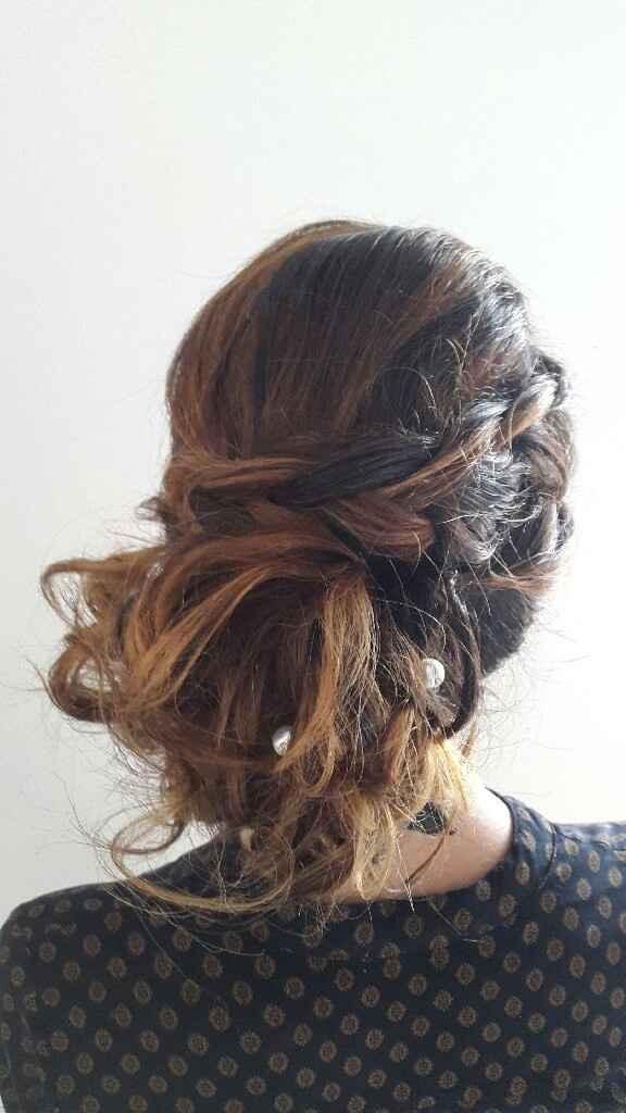 Essayage  coiffure et maquillage - 2