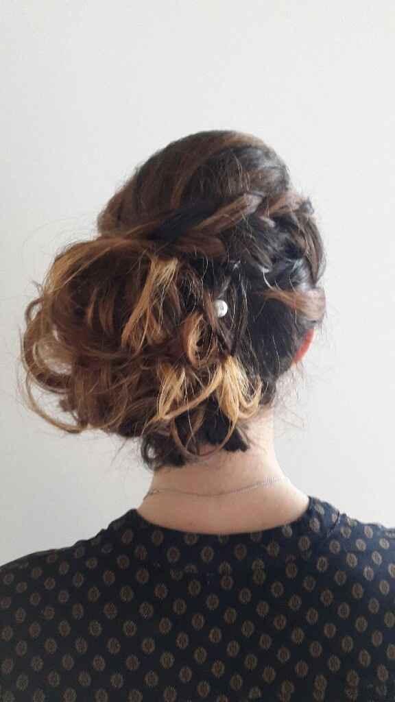 Essayage  coiffure et maquillage - 3