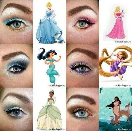 maquillage disney