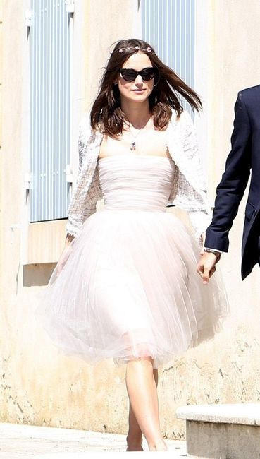 Robe de mariée vintage de Keira Knightley - Photo Mode nuptiale