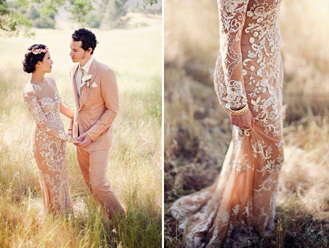 Vestidos de noiva tipo tatuagem, sim ou não? 1