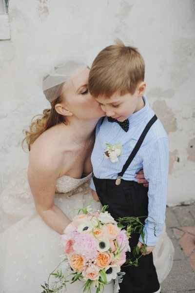 mariée fils