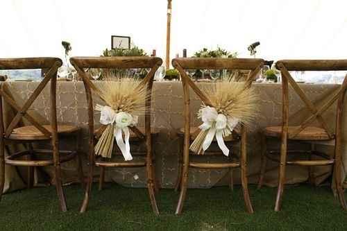 décoration mariage épi de blé